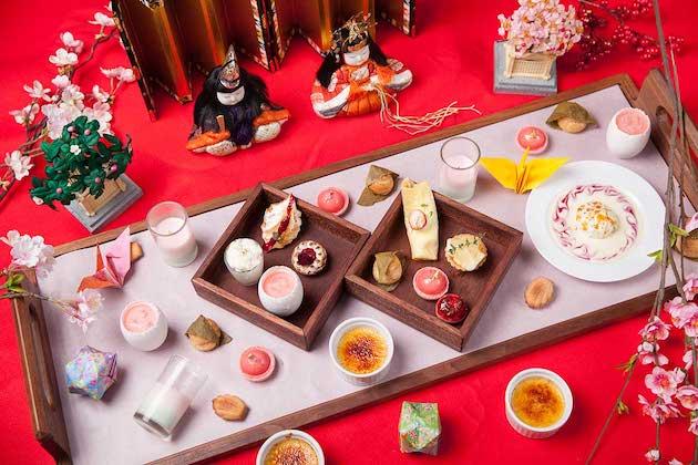 神戸北野ホテル いちごブッフェ第2弾!ナイトデザートブッフェ~ひな祭り~
