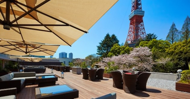 カフェ&バー タワービューテラス(東京プリンスホテル)