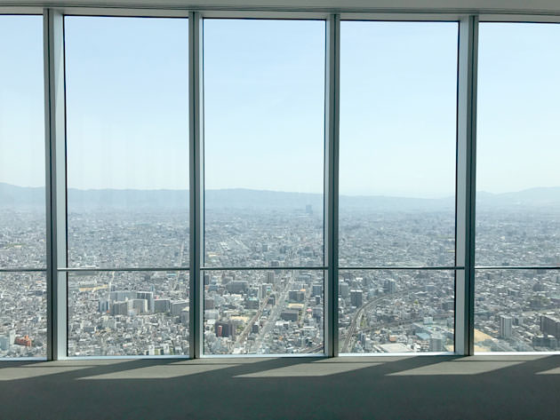 大阪を見直した!あべのハルカスの展望台はお洒落!眺望の景色と共に紹介!