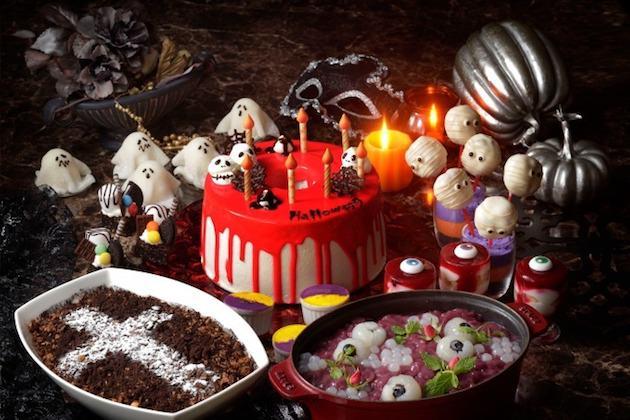 横浜ベイシェラトン ホテル&タワーズ ナイトスイーツブッフェ「Sweets Parade」~Halloween~