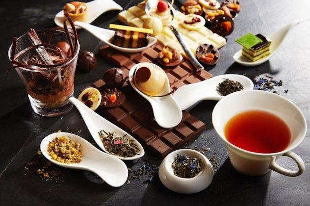 インターコンチネンタルホテル大阪 チョコレート スイーツブッフェ「ティー&チョコレートマジック 」