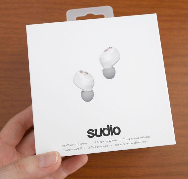 Sudio NIVÅ (ホワイト)  パッケージボックス画像