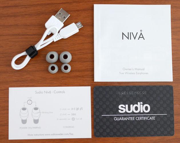 Sudio NIVÅ (ホワイト)  付属品一式