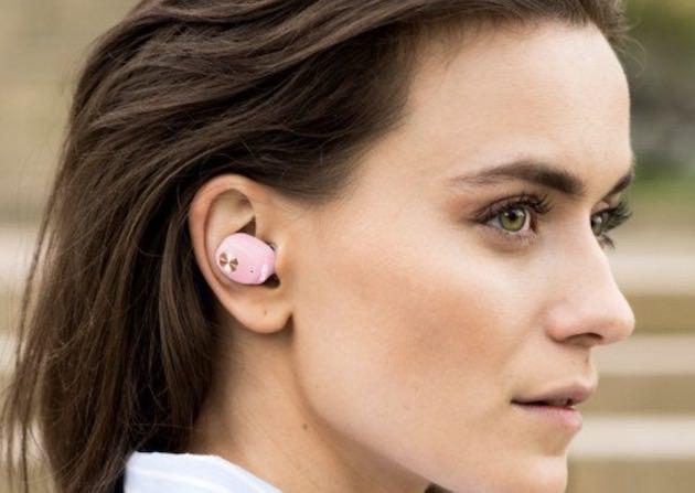 耳に装着する方法