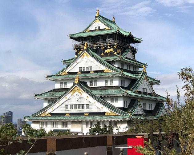 デートにお薦め!大阪城が目前のテラスカフェ BLUE BIRDS ROOFTOP TERRACEに行ってみた