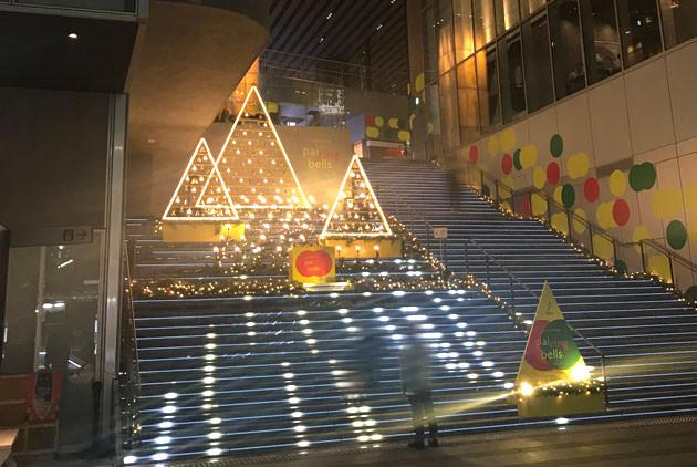 渋谷ストリーム1階の大階段