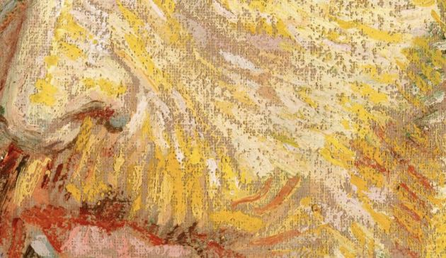 ゴッホの絵 拡大画像