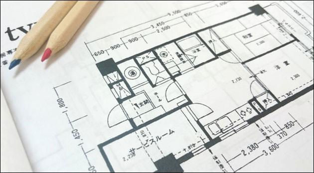 家具の配置図