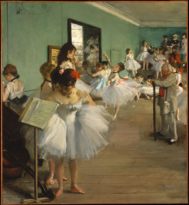 エドガー・ドガの「ダンス教室(バレエ教室)」