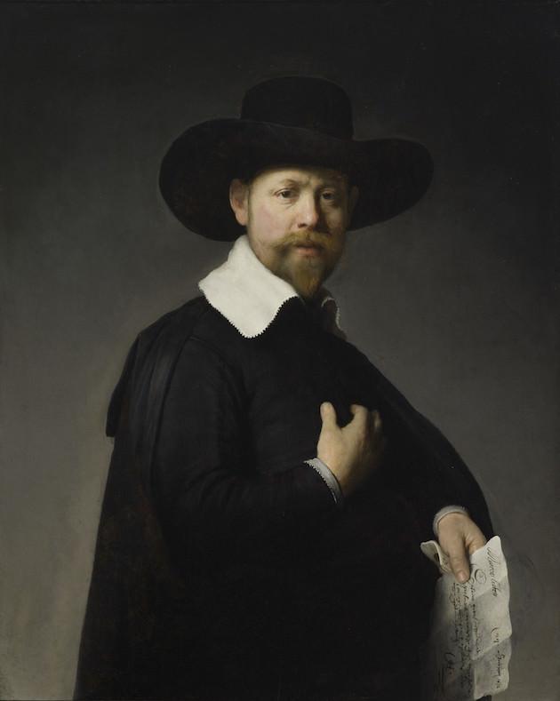 レンブラント・ファン・レイン「Portrait of Martin Looten」