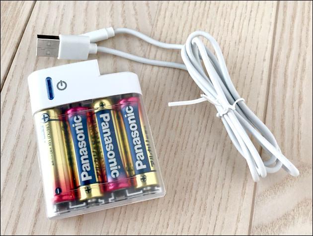 iPhone:災害時に便利!乾電池式充電器はセブンイレブンで買えるよ