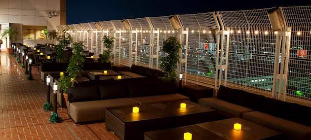 ホテル京阪京都グランデ「屋上ビアガーデン」