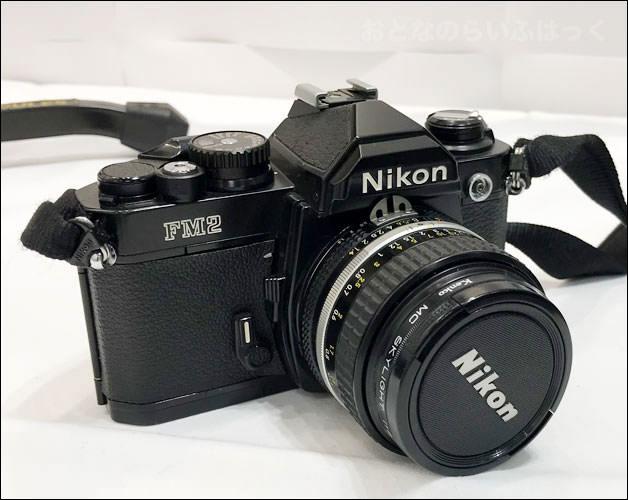 カメラ「NIKON FM2」画像