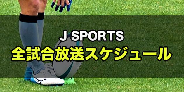 スカパー!『J SPORTS』 ラグビーW杯全48試合 生中継放送スケジュール