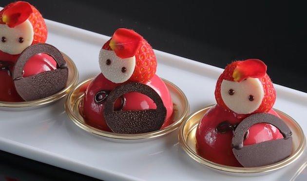 シェラトン都ホテル大阪  いちごのスイーツブッフェ ~赤ずきんちゃんと森のお友達~
