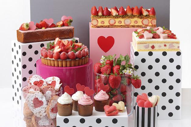 京都タワーホテル Sweets Buffet ~Strawberry Sweet Heart~