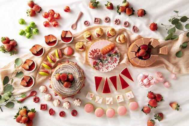 ANAクラウンプラザホテル広島 恋する苺のスイーツブッフェ~Very Berry Valentine~