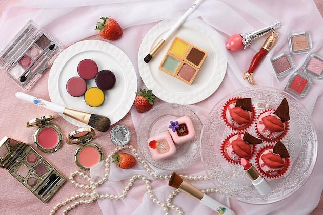 グランドプリンスホテル広島 『ストロベリーランチブッフェ~Cosmetic Petit BonBon』
