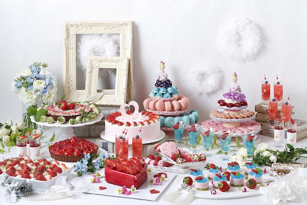 琵琶湖ホテル Super Sweets Buffet~Strawberry Wedding~