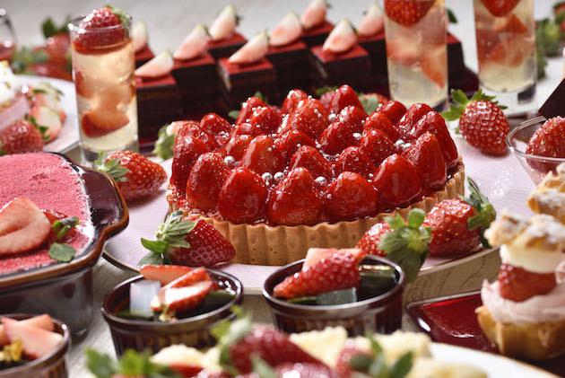 品川プリンスホテル Dining & Bar TABLE 9 TOKYO Floating Strawberry Field(フローティング ストロベリー フィールド)