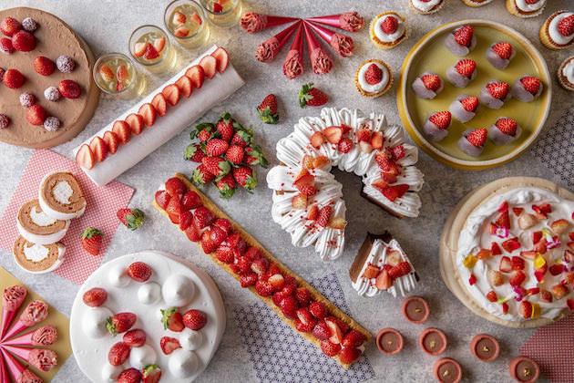 ヒルトン小田原リゾート&スパ 「いちごだらけのデザートビュッフェ」~Very Berry Strawberries~
