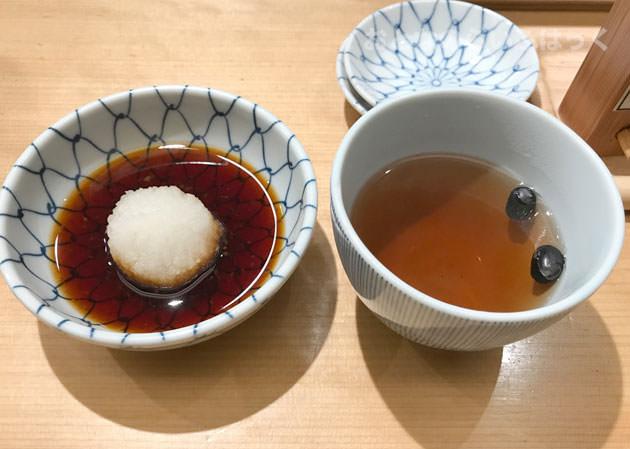 黒豆茶と天つゆ