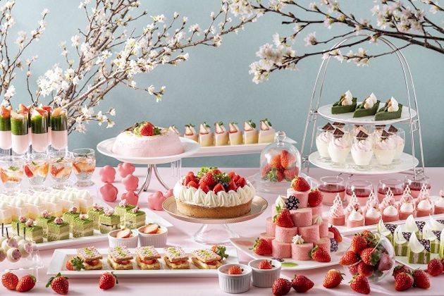 ANAクラウンプラザホテル広島 サクラサク♪ 苺と抹茶のスイーツブッフェ
