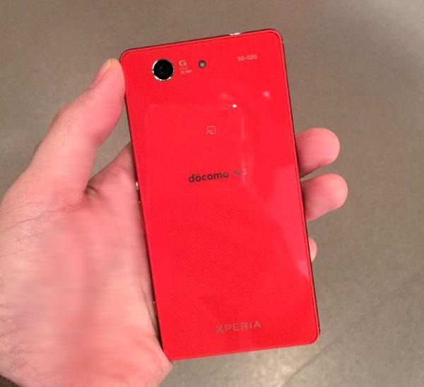 ソニー「Xperia Z3 Compact」オレンジモデル