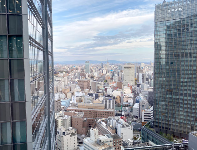 23階のスーペリアダブルからの景色