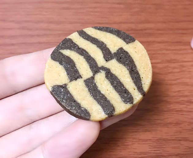 チョコレートのマーブルクッキーが美味しい
