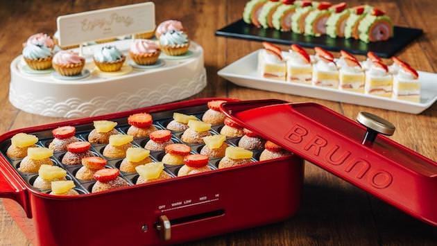 『Strawberry Sweets Buffet~BRUNOの森へようこそ~』メニュー