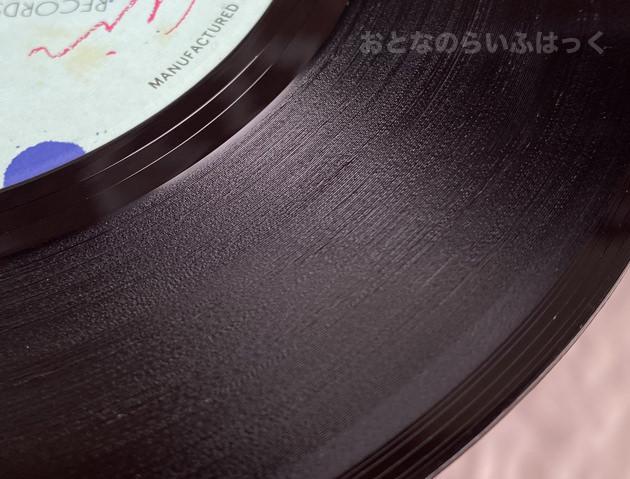 クリーニングで綺麗になったレコード