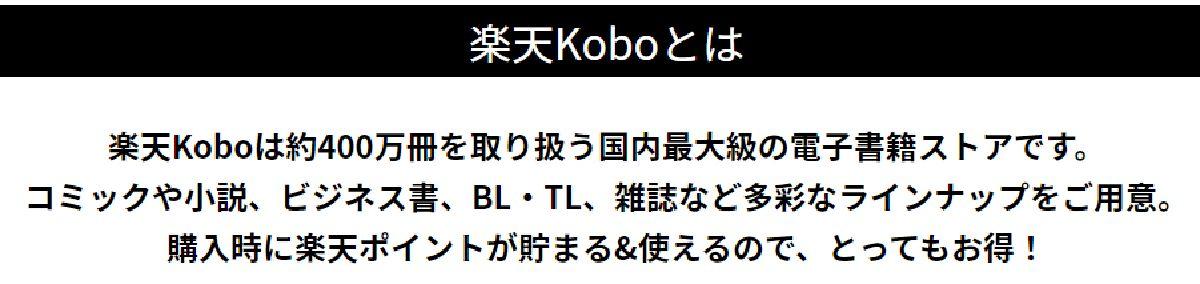 楽天Kobo電子書籍ストアとは?