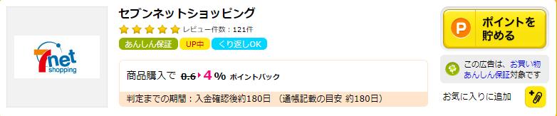【オムニセブン(omni7)】還元率の高いポイントサイトを比較してみた!