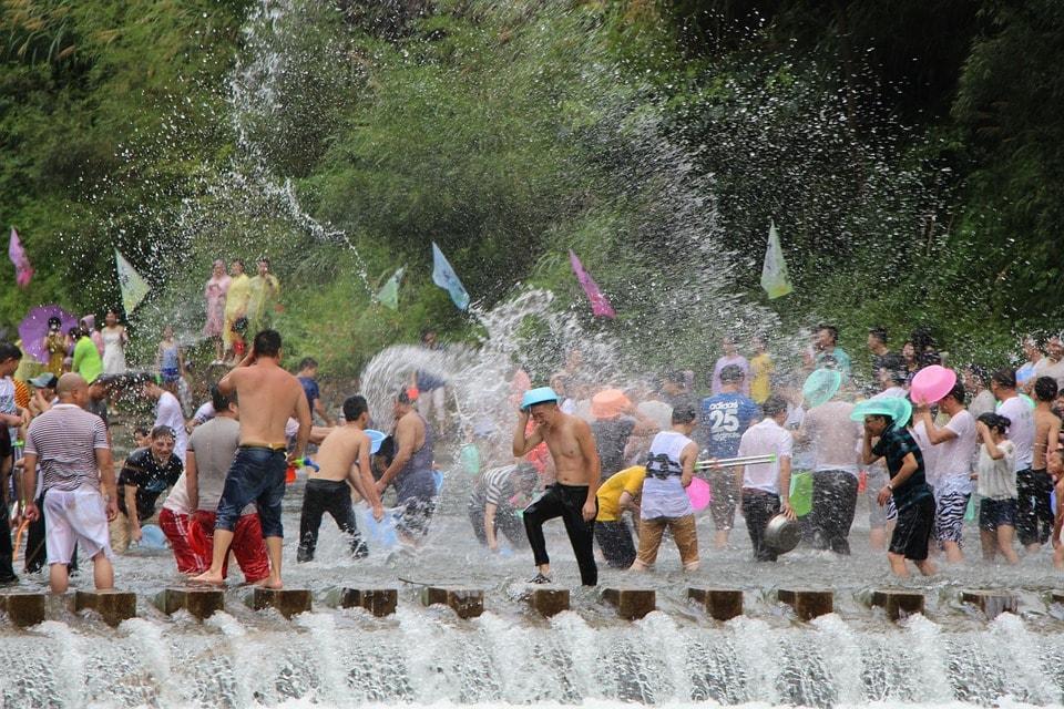 タイ旧正月「ソンクラーン」(通称:水かけ祭り)
