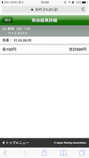 【速報】ローズステークスはこれを買った!