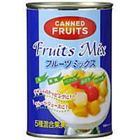 フルーツミックスの缶詰
