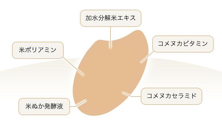 5つの美肌保湿成分