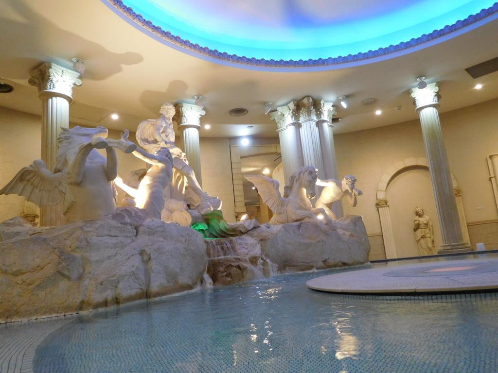 スパワールドローマ風呂
