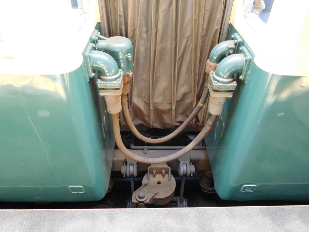 旧北勢線車両の車両連結器