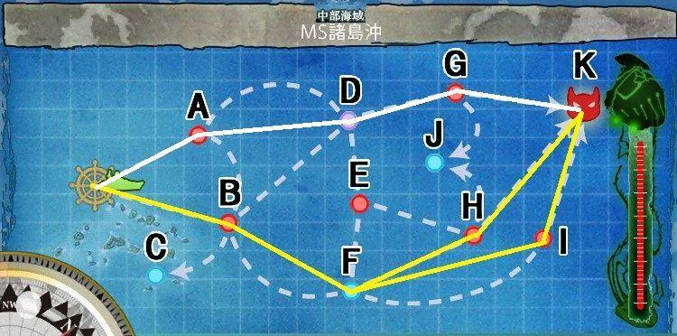 6-2「MS諸島防衛戦」(MS諸島沖) 攻略ルート