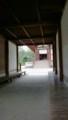 唐招提寺ではここで休みます
