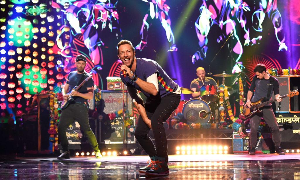 Coldplay コールドプレイ、2017...