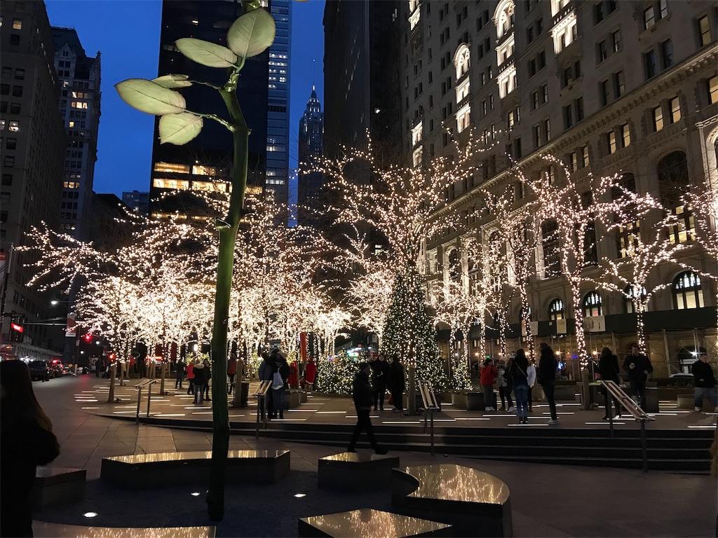 ニューヨーク クリスマス イルミ...