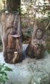 黄梅院本堂前の仏像