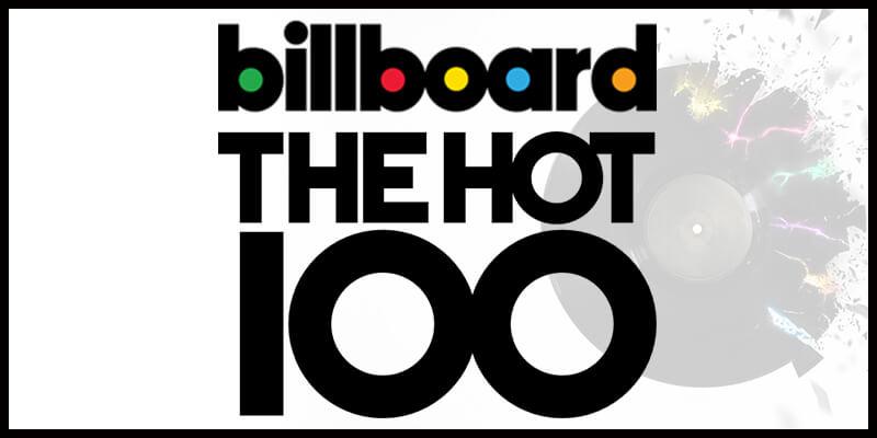 【更新】全米ビルボードHOT100最新ランキングTOP10/今週の洋楽チャート1位はこの曲!