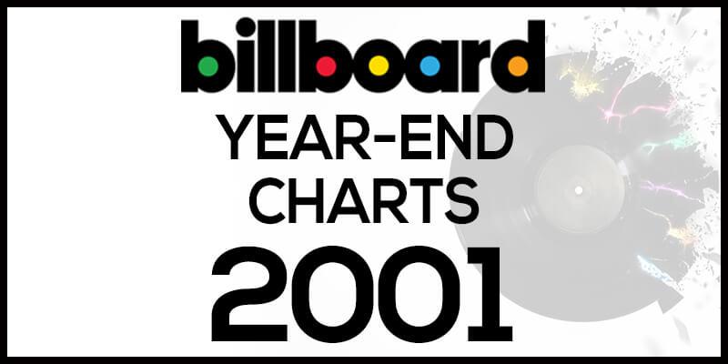 洋楽ビルボード年間ランキング【2001年】全米チャートトップ100総まとめ