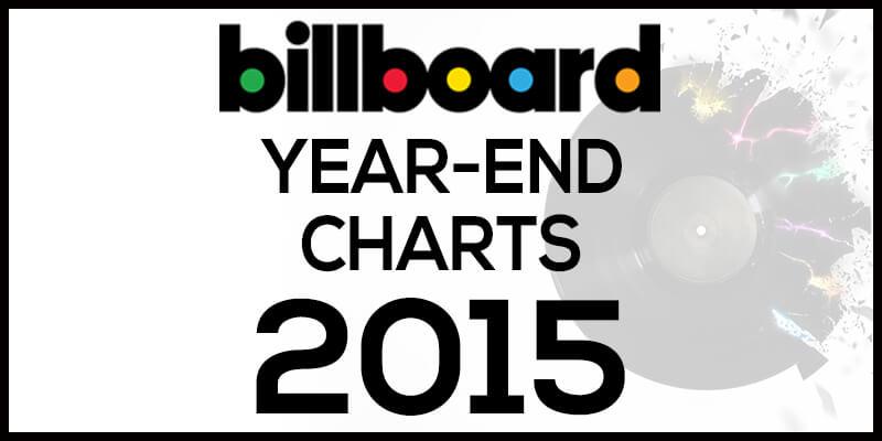 洋楽ビルボード年間ランキング【2015年】全米チャートトップ100総まとめ