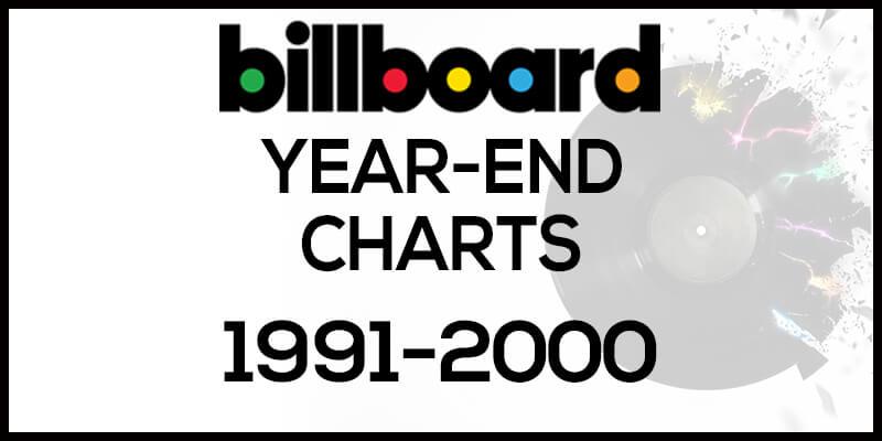 洋楽ビルボード年間ランキング【1991年~2000年】全米チャートトップ10総まとめ