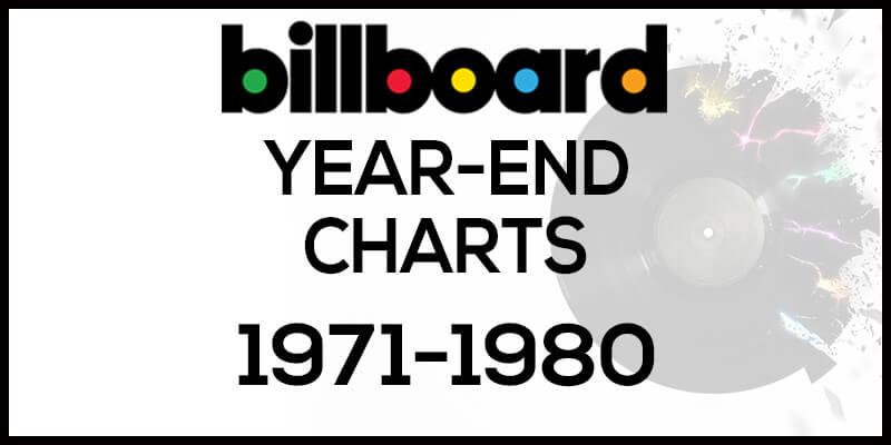 洋楽ビルボード年間ランキング【1971年~1980年】全米チャートトップ10総まとめ